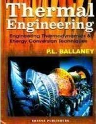 Thermal Engineering - Engineering Thermodynamics and Energy ...