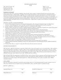 Medical Clerk Sample Resume Haadyaooverbayresort Com