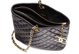 Vintage Chanel Bags & $2,699 for a Chanel Quilted Tote with Single Gold Strap Adamdwight.com