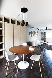 dining room design ideas round dining tables in open concept hdb flat homes
