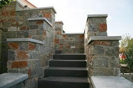 Sie können die gabionen als durchgehende mauer aufstellen und lediglich platz für toreinfahrten und eingangstür lassen oder sich für eine aufgelockerte version entscheiden. Mauern Garten Landschaftsbau Kosters Garten Und Landschaftsbau