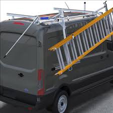 Prime Design Van Ladder Ergorack Single Drop Down Rack For Ford Transit Medium And High Roof Vans
