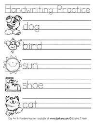 236 Best Handwriting Worksheets Images Preschool Kindergarten