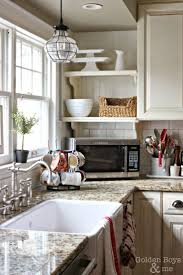 over the sink lighting. diy white kitchen with farmhouse sinkwwwgoldenboysandmecom over the sink lighting p