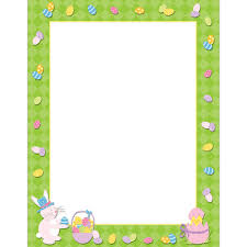 easter stationery easter time letterhead dp2014302 designer papers decorative