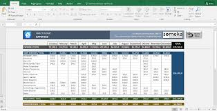 031 Excel Budget Template Free Download Family Sensational