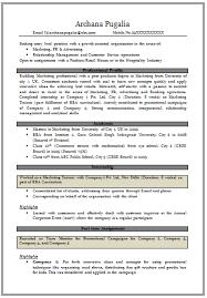 mba resume template 10000 cv resume samples free download resume mba fresher  marketing - Sample Resume