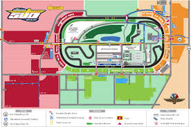 maps of the indy motor speedway  grandstand maps
