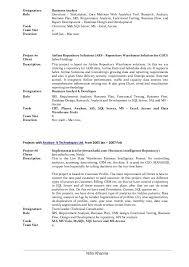 resume analysis lead business analyst resume of resume analysis machine  learning