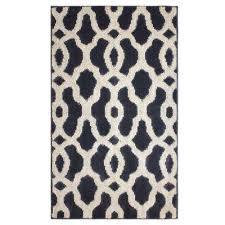 mozart flat grey berber 2 ft x 5 ft area rug