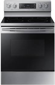 ne59m4320ss samsung 30 flex duo 5 9 cu ft freestanding electric range with warming center and bake element stainless steel