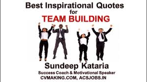 Best Inspirational Quotes For Team Work Team Building Training