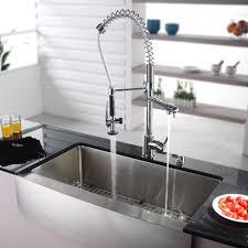 Kitchen Cool White Apron Front Sink Contemporary Kitchen Sinks