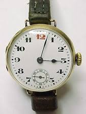 antique gents wrist watches lovely antique solid 9ct gold trench watch glasgow c1924