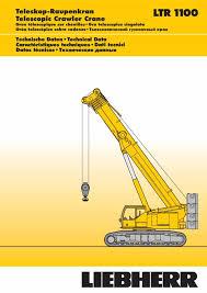 Cranepedia Liebherr Ltr1100