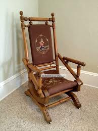 rocking chair design eastlake style victorian platform rocker
