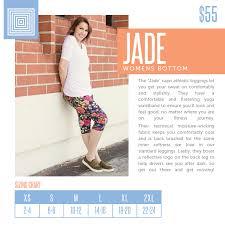 New 2018 Size Charts Lularoe Jade Lularoejade Lularoe