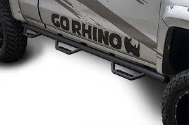 Go Rhino Dominator D3 Side Steps - Dominator D3 Nerf Bars - Free ...