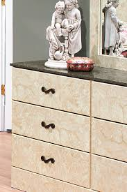 Perdue Bedroom Furniture Perdue Sicilian Marble Two Tone Faux Marble 6 Drawer Dresser