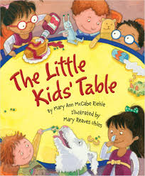 cover the little kids table