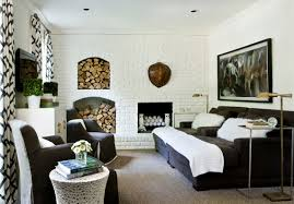 natural home elements exposed brick brick bedroom