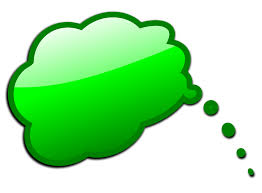 Green Text Bubble Speech Bubble Free Stock Photo Illustration Of A Green