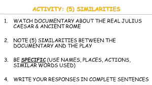 today s activities warm up warm up essay writing review  3 activity