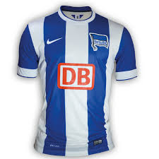 From wikimedia commons, the free media repository. New Hertha Berlin Jersey 2014 2015 Nike Hertha Bsc Home Kit 14 15 Football Kit News