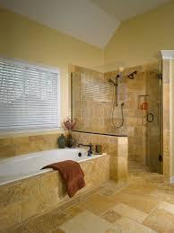bathroom doorless shower ideas. Bathroom Faucet Wooden Floor Marble Gray Tile Flooring Red Towl Touchless Sunken Wall Shelves White · Shower Tub Ideas Doorless I