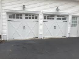hunter garage doorsClopay Coachman carriage house style garage door with decorative