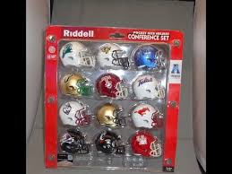 american athletic conference pocket pro helmet set custom made