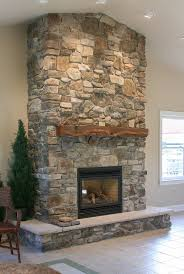 Stunning Stone Fireplaces Images 74 With Additional Exterior House