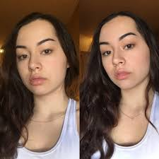 right out of bed vs no makeup makeup