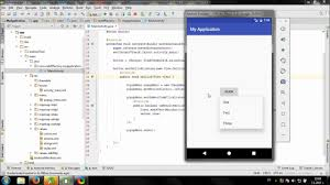 Create Popup Menu in Android Studio - YouTube