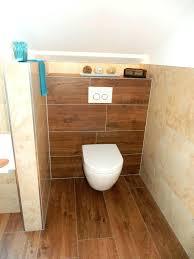 Badezimmer Holzoptik Grau