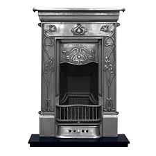 carron crocus combination cast iron fireplace suite