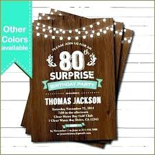 Birthday Invitation Templates Free Download Inspirational Surprise