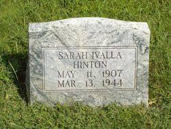 "Sarah Ivalla ""Iva"" Hicks Hinton (1907-1944) - Find A Grave Memorial"