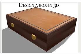 3d box app design a custom wooden