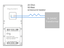 how to connect your ring video doorbell 2 directly to a low voltage rvd2 direct to transformer 720b png