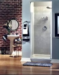 300c continuous hinge semi frameless door