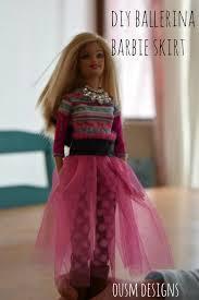 diy barbie tulle skirt