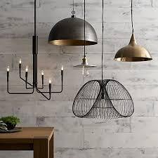 rodan hammered metal pendant light