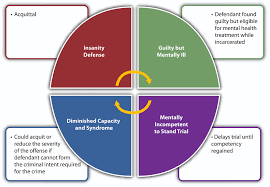 Criminal Law Defenses Chart 6 1 The Insanity Defense Criminal Law