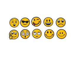 Emoji Embroidery Designs Emoji Embroidery Applique Decoration Diy Patch Set Of 10 Funny Custom Design Emojies Face Kit Iron On For Shirt Jacket Bag Hat Pant Vest Jean Cotton