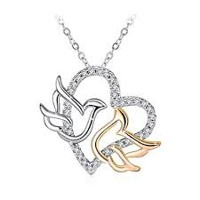 J.Rosée <b>Bird Pendant</b> Necklacefor Women Girl <b>Fashion</b> Jewellery ...
