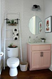 apartment bathroom ideas pinterest. Exellent Bathroom 20 Reasons To Be Entirely Obsessed With Pink Bathrooms  Home Pinterest  Interior Inspiration Neutral And Pink Cabinets With Apartment Bathroom Ideas F