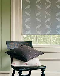 unique modern window treatments. Interesting Modern Stenciled Roller Shade For Unique Modern Window Treatments I
