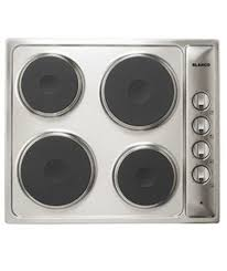 electric cooktop. Blanco 4 Burner Stainless Steel Electric Cooktop BCER6X L