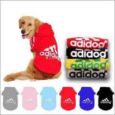 New Fashion Adidog Autumn Winter Cotton Pet Dog Jacket ... - Vova